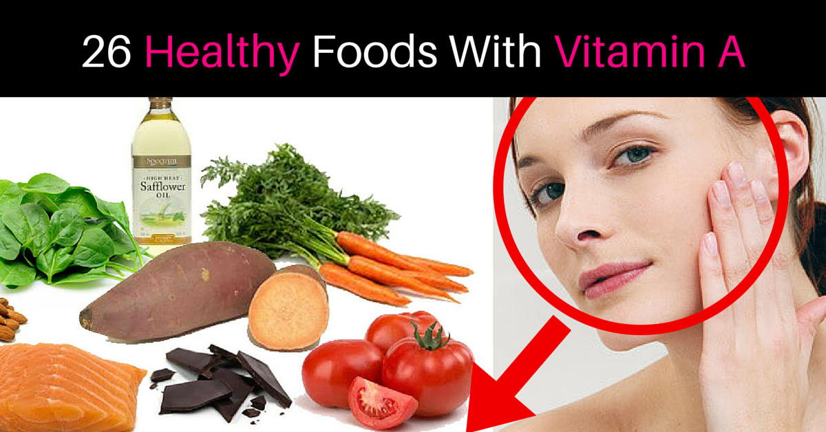 how to get vitamin a from food