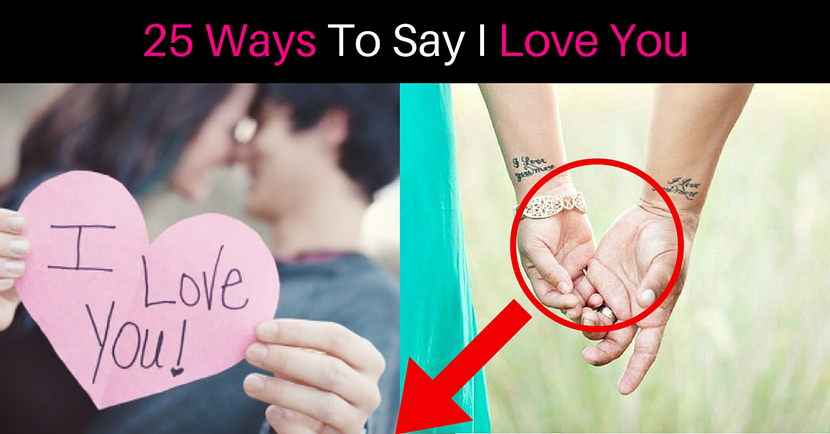 How To Say I Love You Romantically