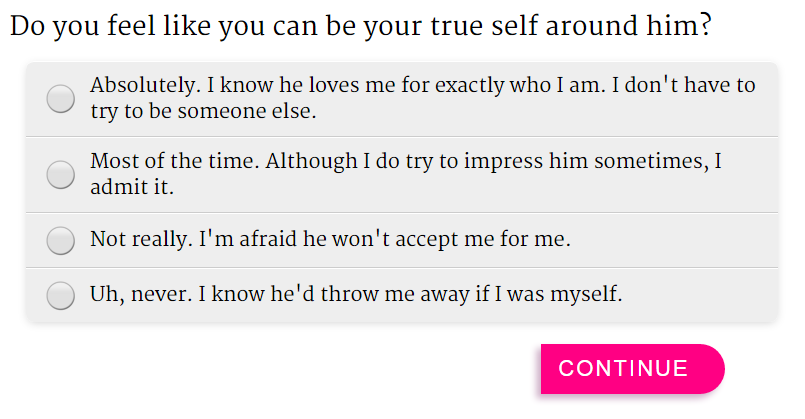 how to know if a guy loves you quiz