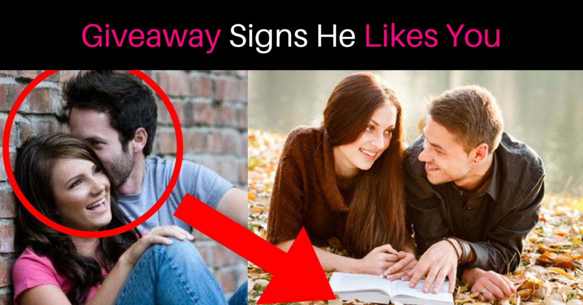 flirting signs he likes you quiz for a person