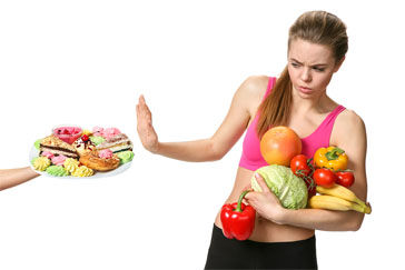 19 easy ways to lose weight fast for example if you are craving a pizza you can still eat pizza just make sure that its loaded with veggie toppings its much harder to eat a bunch of ccuart Images