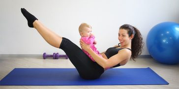 Flatten Your Stomach After A C-Section With These Amazing Exercises
