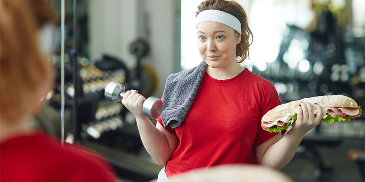 reasons you're working out and not losing weight