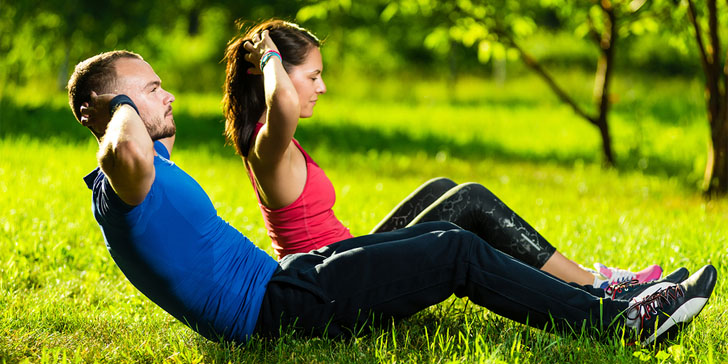 ways to get started with exercise